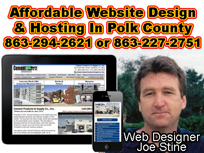 Polk County Website Design